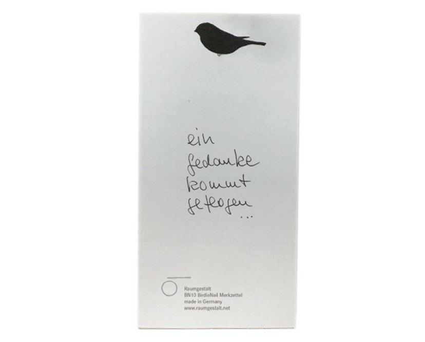 Merkzettel mit BirdieNail