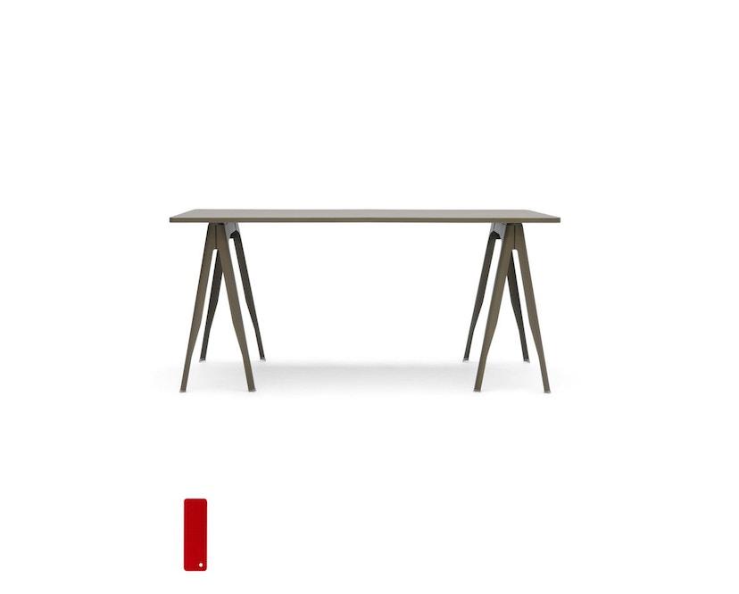 Tolix - Y Esstisch - indoor - lang - kaminrot - 3