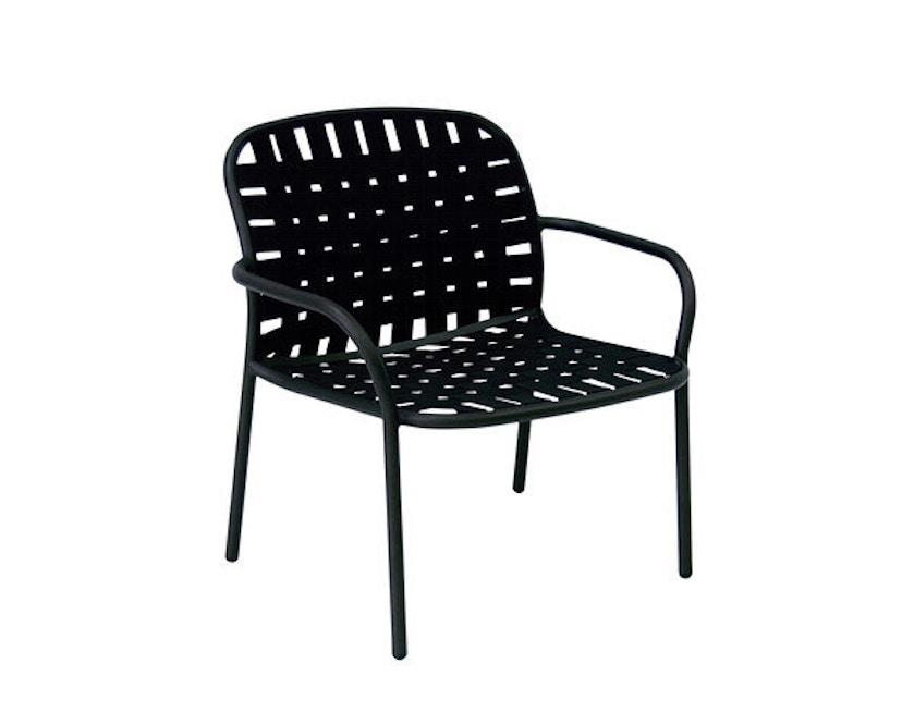 Emu - Yard Loungesessel - schwarz/schwarz-grau - 3