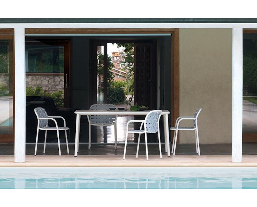 Emu - Yard tafel - aluminium - M - wit - 7