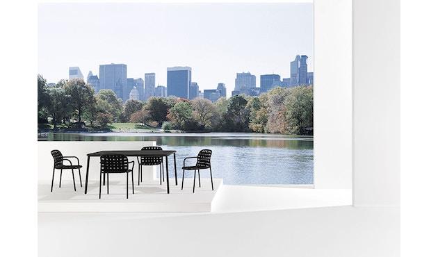Emu - Yard tafel - aluminium - M - wit - 8