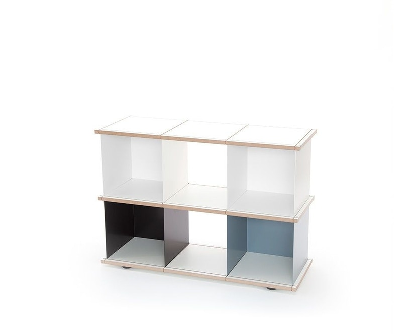 Konstantin Slawinski - YU Regal - 3x2 -  weiß, schwarz, grau - 1