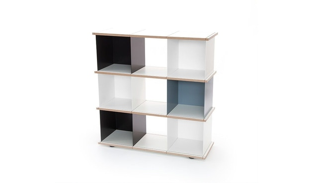 Konstantin Slawinski - YU Regal - 3x3 -  schwarz, weiß, grau - 1