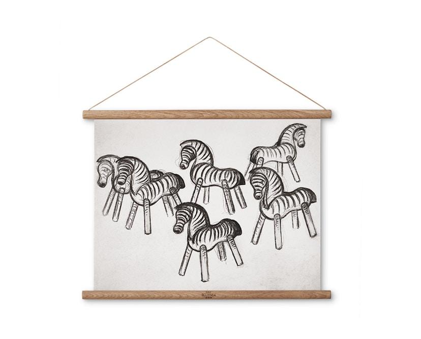 Kay Bojesen - Zebraherde Zeichnung - 1