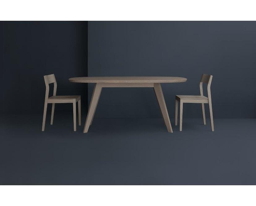 Zeitraum - Cena Tisch hyperelliptisch - Esche massiv - 170 x 100 cm - 5