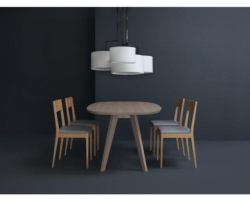 Zeitraum - Cena Tisch hyperelliptisch - Esche massiv - 170 x 100 cm - 6