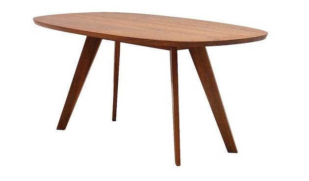 Zeitraum - Cena Tisch hyperelliptisch - Esche massiv - 170 x 100 cm - 1