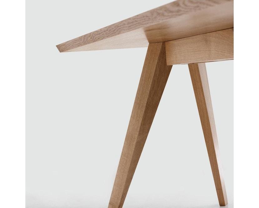 Zeitraum - Cena Tisch rechteckig - Eiche massiv - 140 x 80 cm - 6