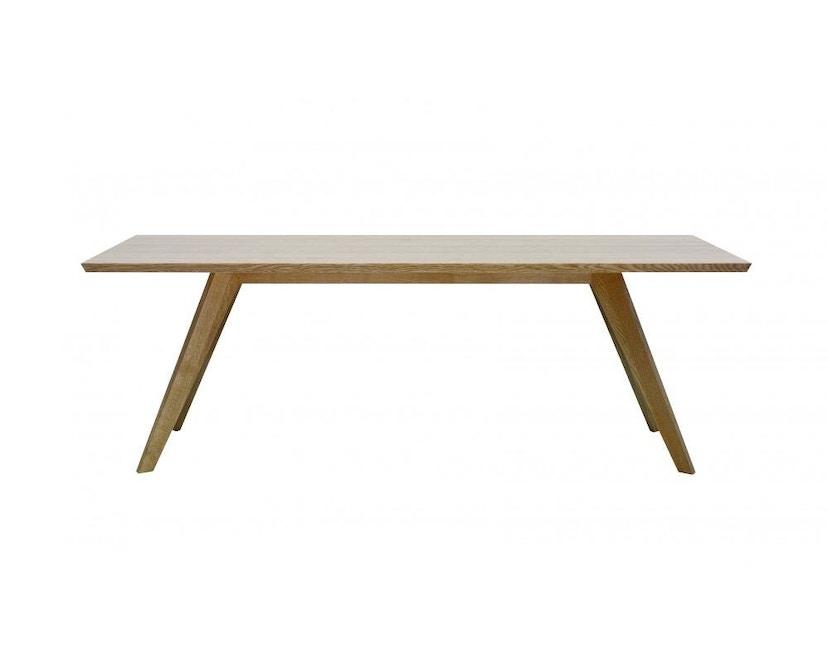 Zeitraum - Cena Tisch rechteckig - Eiche massiv - 140 x 80 cm - 1