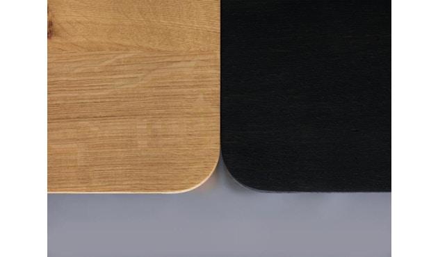 Zeitraum - M11 Tisch quadratisch - Eiche massiv - 60 x 60 cm - 5