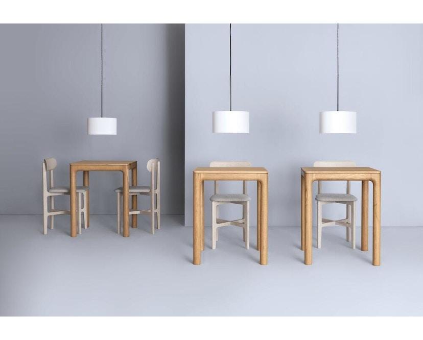 Zeitraum - M11 Tisch quadratisch - Eiche massiv - 60 x 60 cm - 6