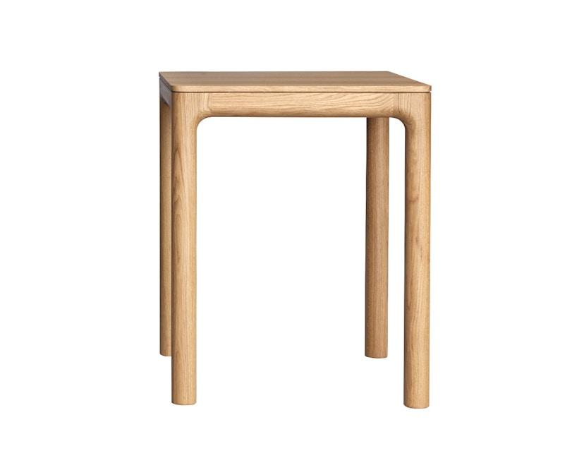 Zeitraum - M11 Tisch quadratisch - Eiche massiv - 60 x 60 cm - 1