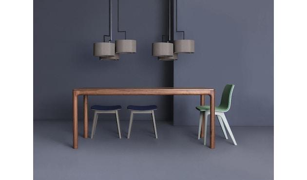 Zeitraum - M11 Tisch rechteckig - amerik. Nussbaum massiv - 90 x 60 cm - 6
