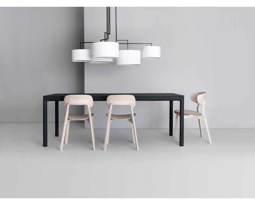 Zeitraum - M11 Tisch rechteckig - amerik. Nussbaum massiv - 90 x 60 cm - 7