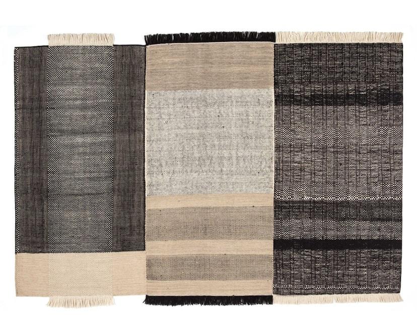 Nanimarquina - Tres Teppich - schwarz - 170 x 240 cm - 1