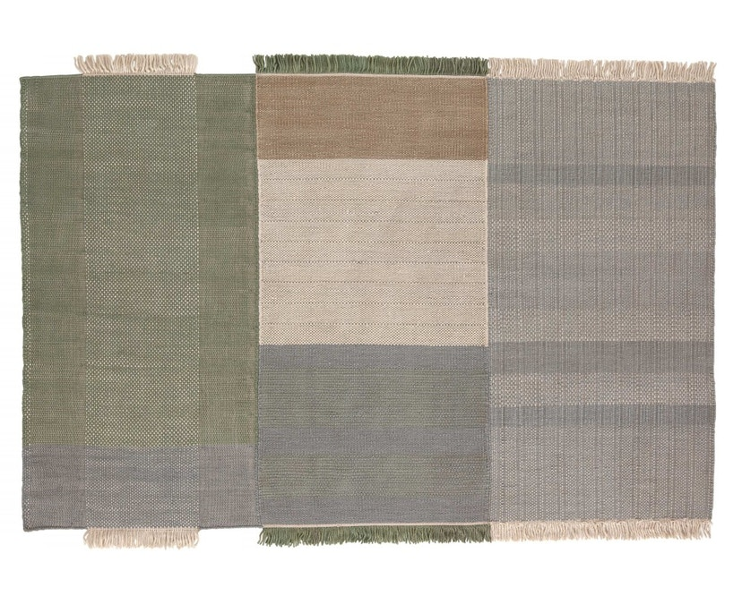 Nanimarquina - Tres Teppich - salbei - 170 x 240 cm - 1