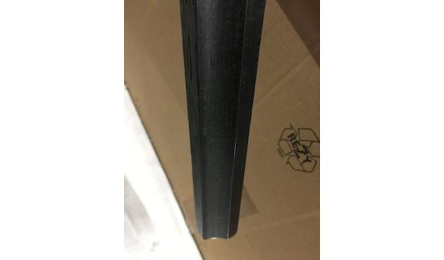 HAY - About a Stool AAS 32 - schwarz - Eiche schwarz gebeizt - H 85 cm - Fußbank schwarz